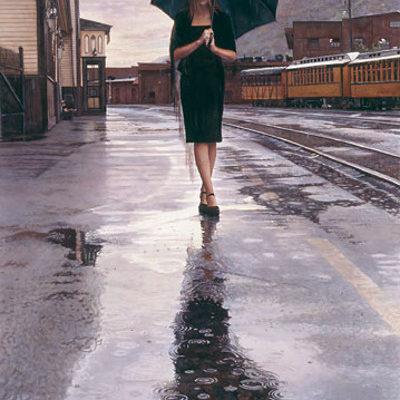 Waiting In The Rain Steve Hanks