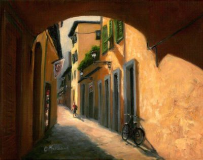 Walkways of Florence - Catherine Marchand