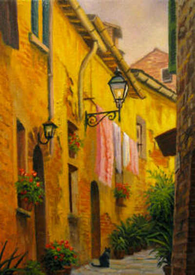 Warm Day In Tuscany Charles White