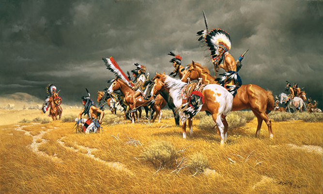 Watching the Wagons - Frank McCarthy