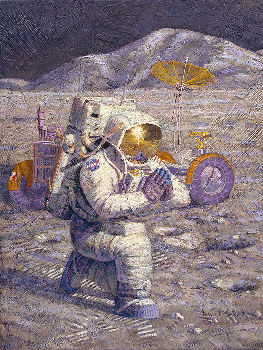 We Came In Peace For All Mankind Alan Bean