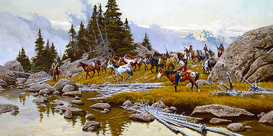 Where Tracks Will Be Lost - Frank McCarthy