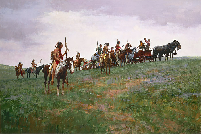 Whiskey Smugglers Howard Terpning