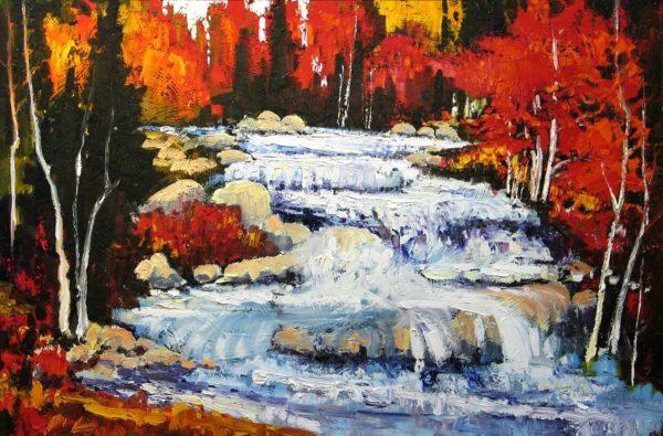 White Water - East River N. S. - Lois Bauman