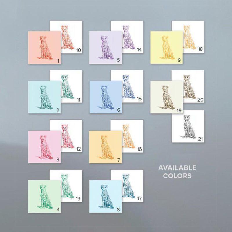 Wild Child - Available Colours - John Banovich