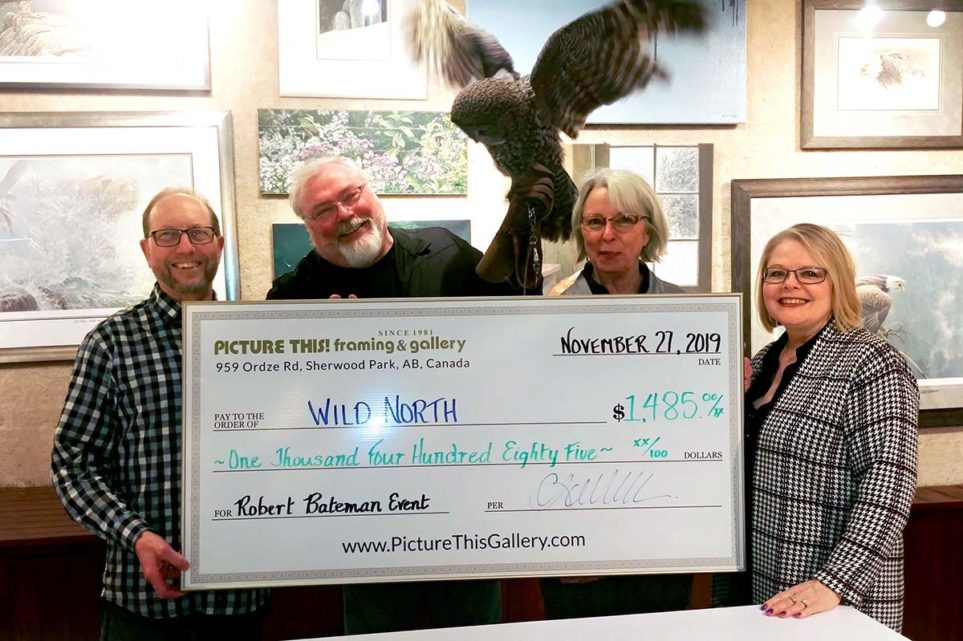 Wild North Donation from Picture This - Robert Bateman Event 2019 (2)