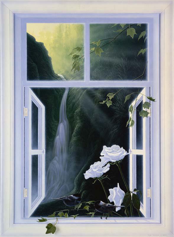 Window of Springtime - Rod Tribiger