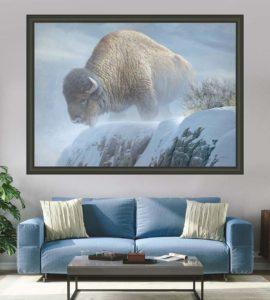 Winter Bison - Showstopper Edition - Robert Bateman