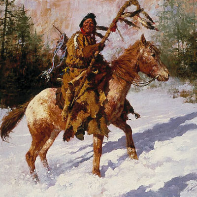 Winter Coat Howard Terpning