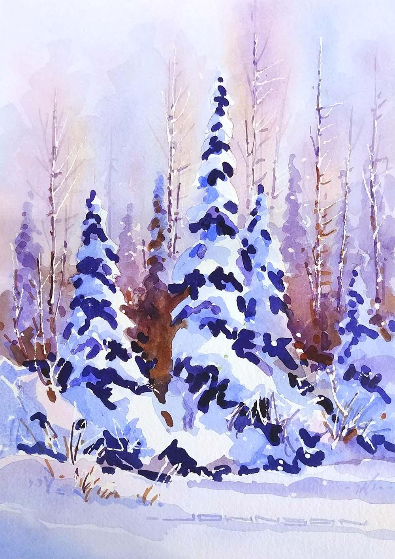 Winter Day - Gregg Johnson