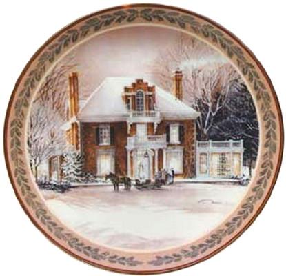 Winter Fantasy Collector Plate Trisha Romance