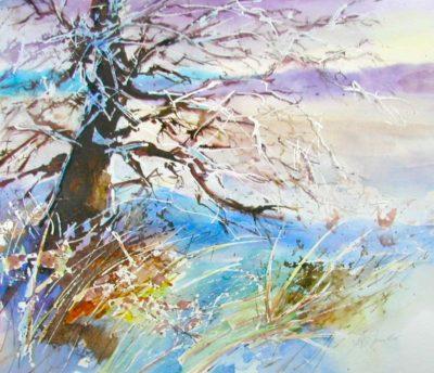 Winter Meadow - Audrey Pfannmuller