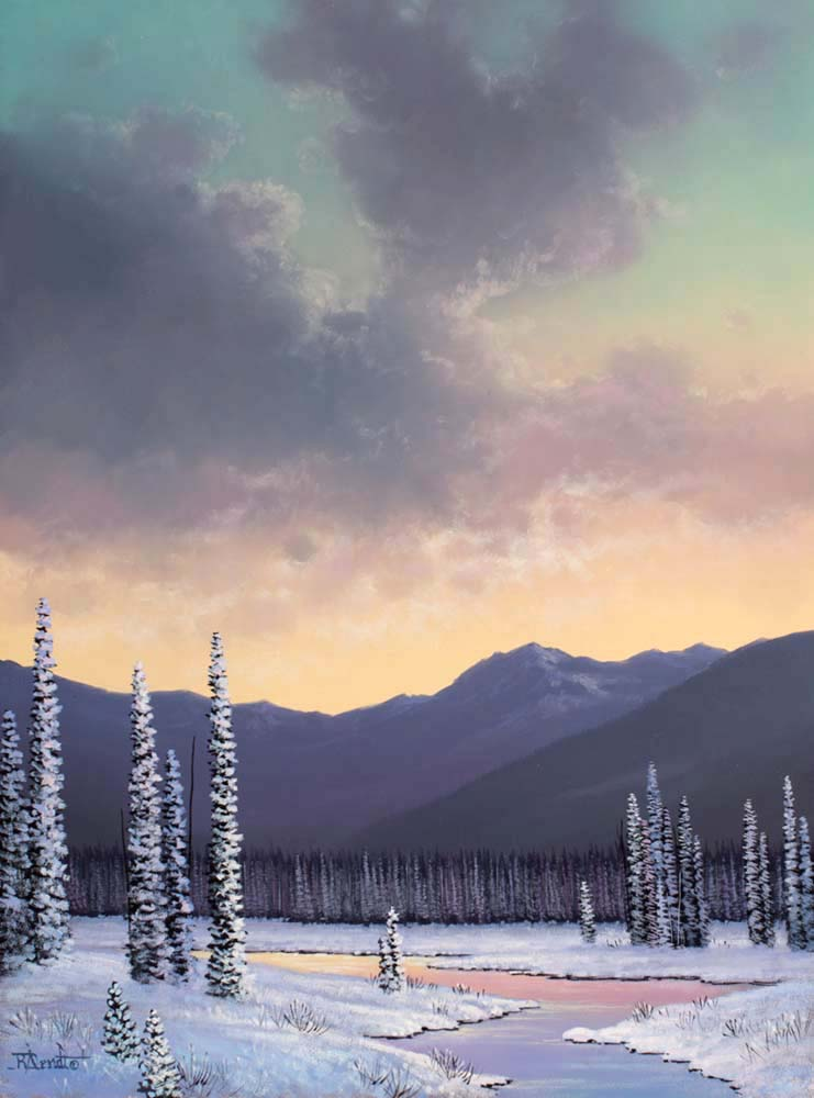 Winter Pastel - Roger Arndt