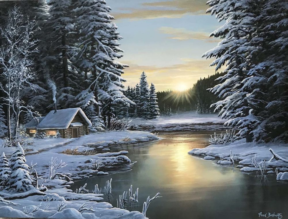 Winter Retreat - Fred Buchwitz