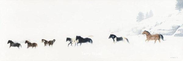 Winter Run Terry Isaac