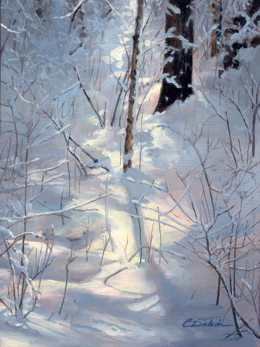 Winter Woods Study I - Charity Dakin