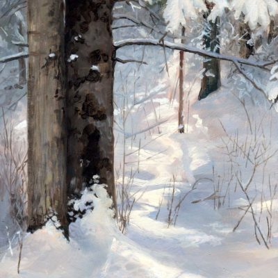 Winter Woods Study II - Charity Dakin