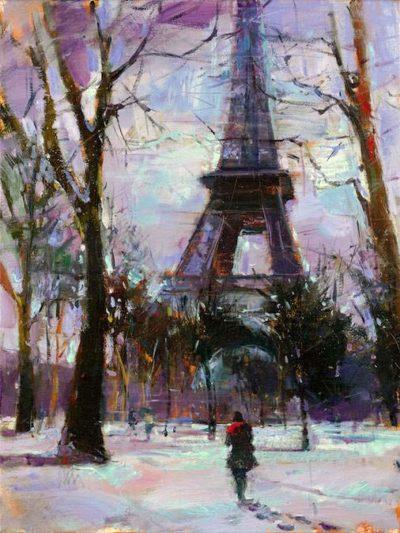 Winter in Paris - Michael Flohr