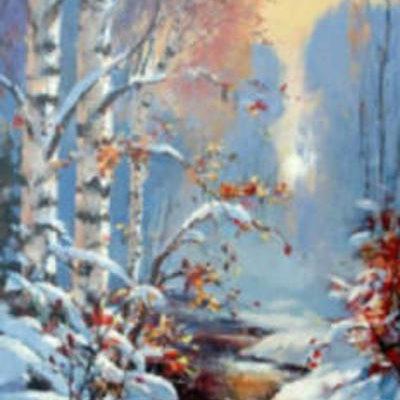 Winter's Glow Brent Heighton