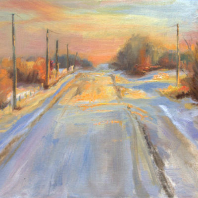 Winters' Orange Glow - Michelle Murray