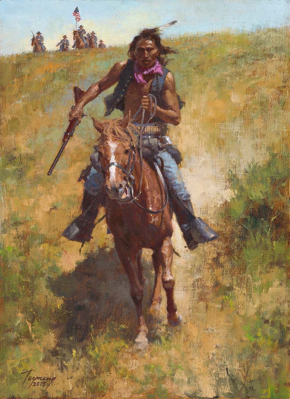 Working for the Government - Howard Terpning
