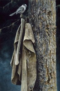 Wrangler's Campsite Gray Jay Robert Bateman
