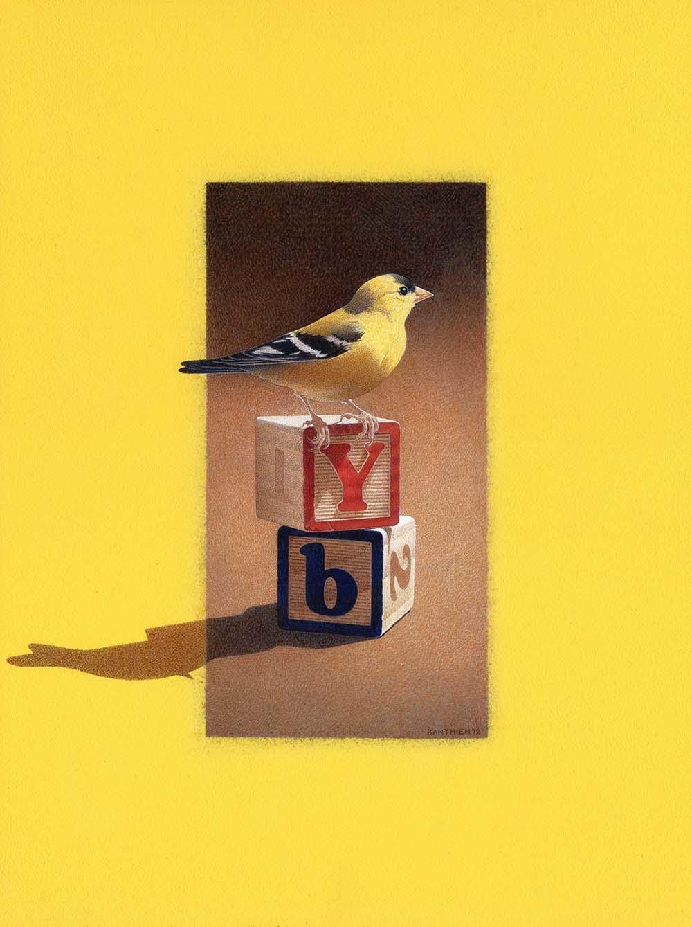 Yellow Bird - Barbara Banthien