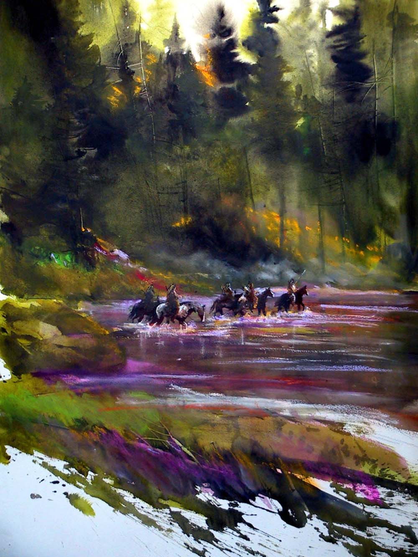 Yellowstone Crossing - Graham Flatt