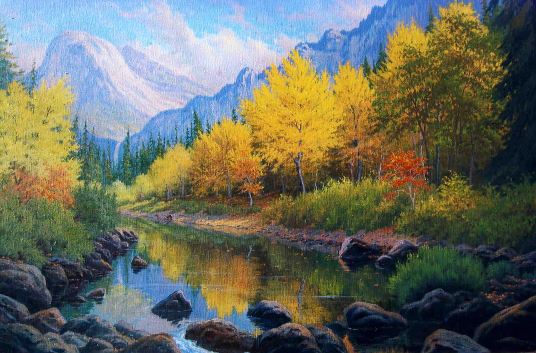 Yosemite Autumn Charles White